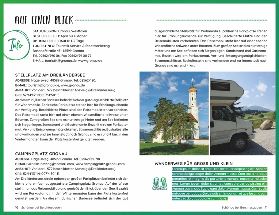 Wochenend und Wohnmobil - Kleine Auszeiten im Allgäu
