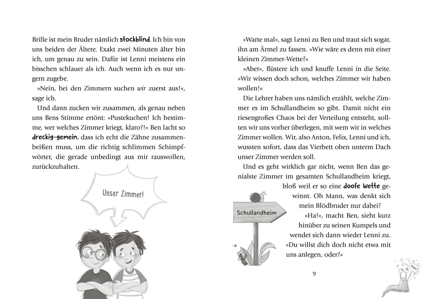 Lenni und Luis 2: Voll geheim, Krötenschleim!