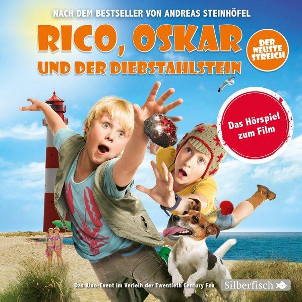 Rico und Oskar 3: Rico, Oskar und der Diebstahlstein - Das Filmhörspiel (Audio-CD)