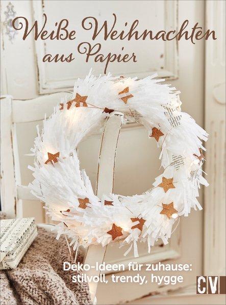 Weiße Weihnachten aus Papier