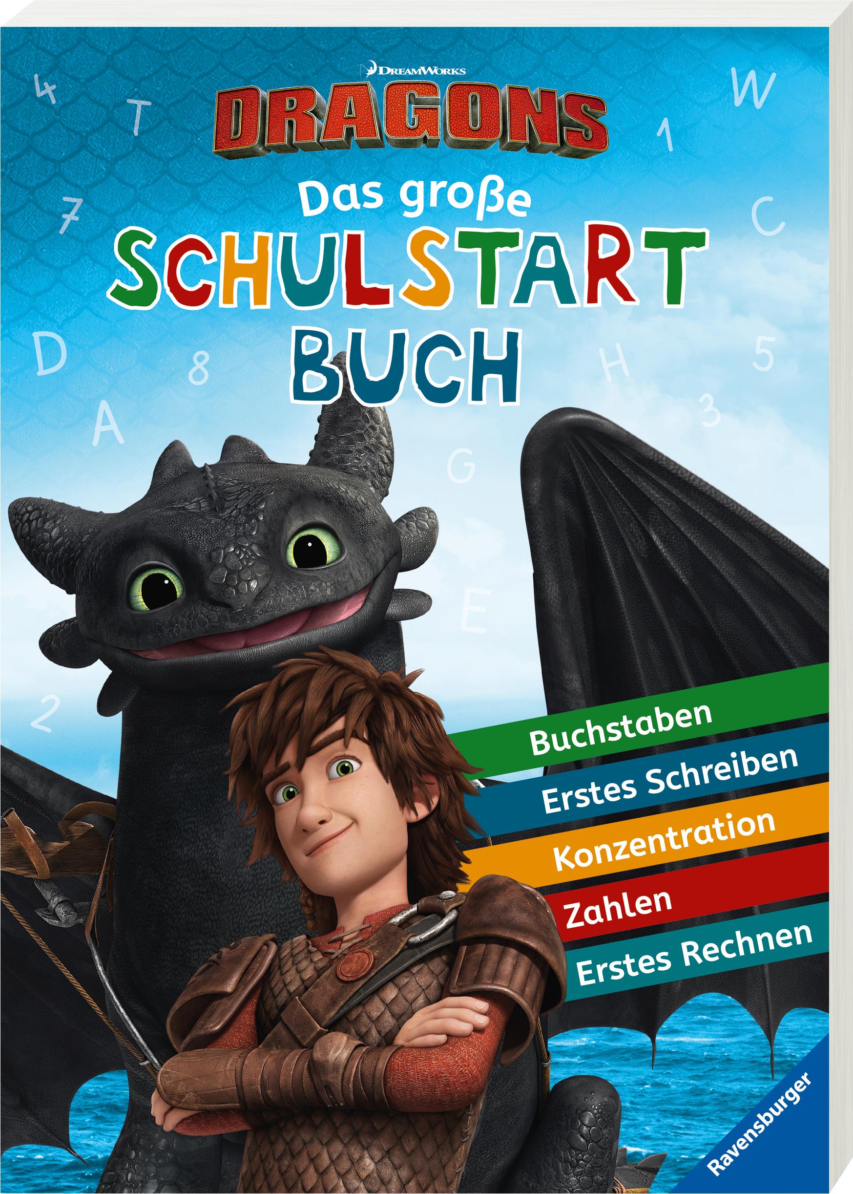 Dreamworks Dragons: Das große Schulstartbuch