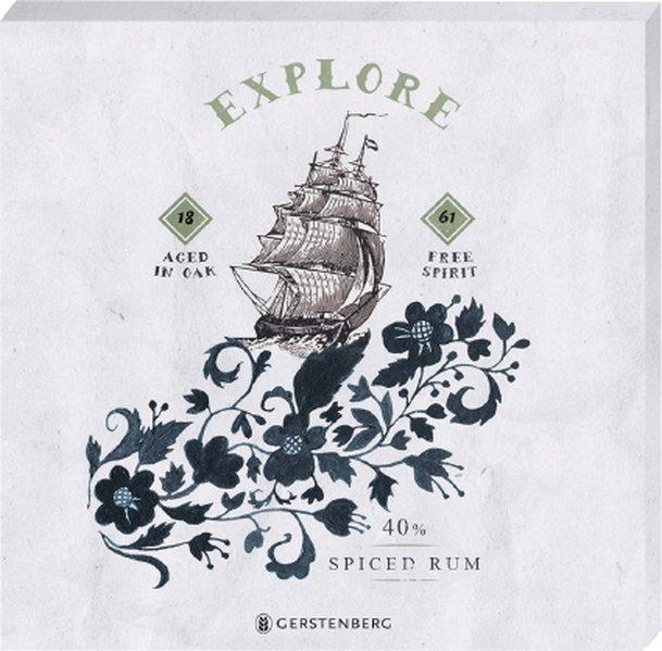 High Spirit Untersetzer - Motiv Explore 1861 (2er Set)