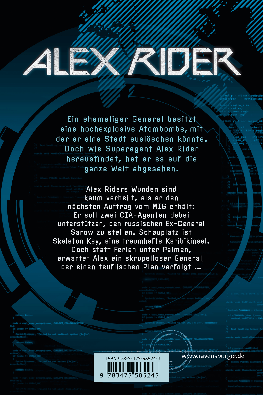 Alex Rider, Band 3: Skeleton Key