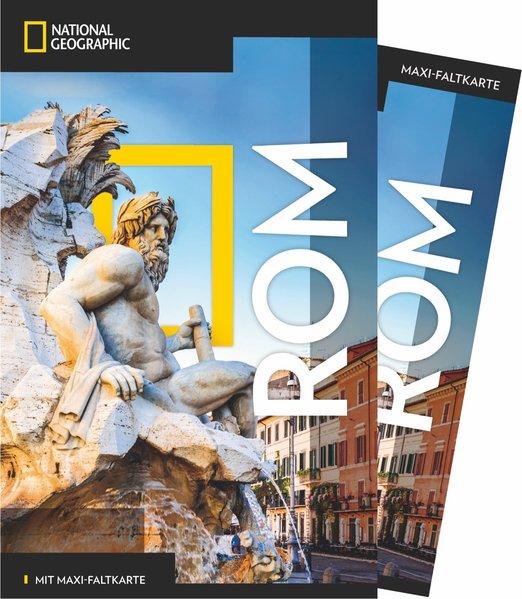 NATIONAL GEOGRAPHIC Reiseführer Rom mit Maxi-Faltkarte