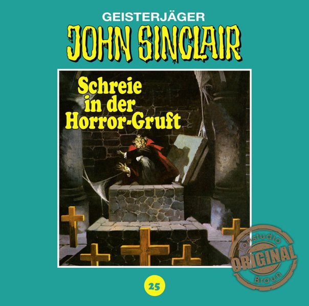John Sinclair Tonstudio Braun - Folge 25 (Audio-CD)