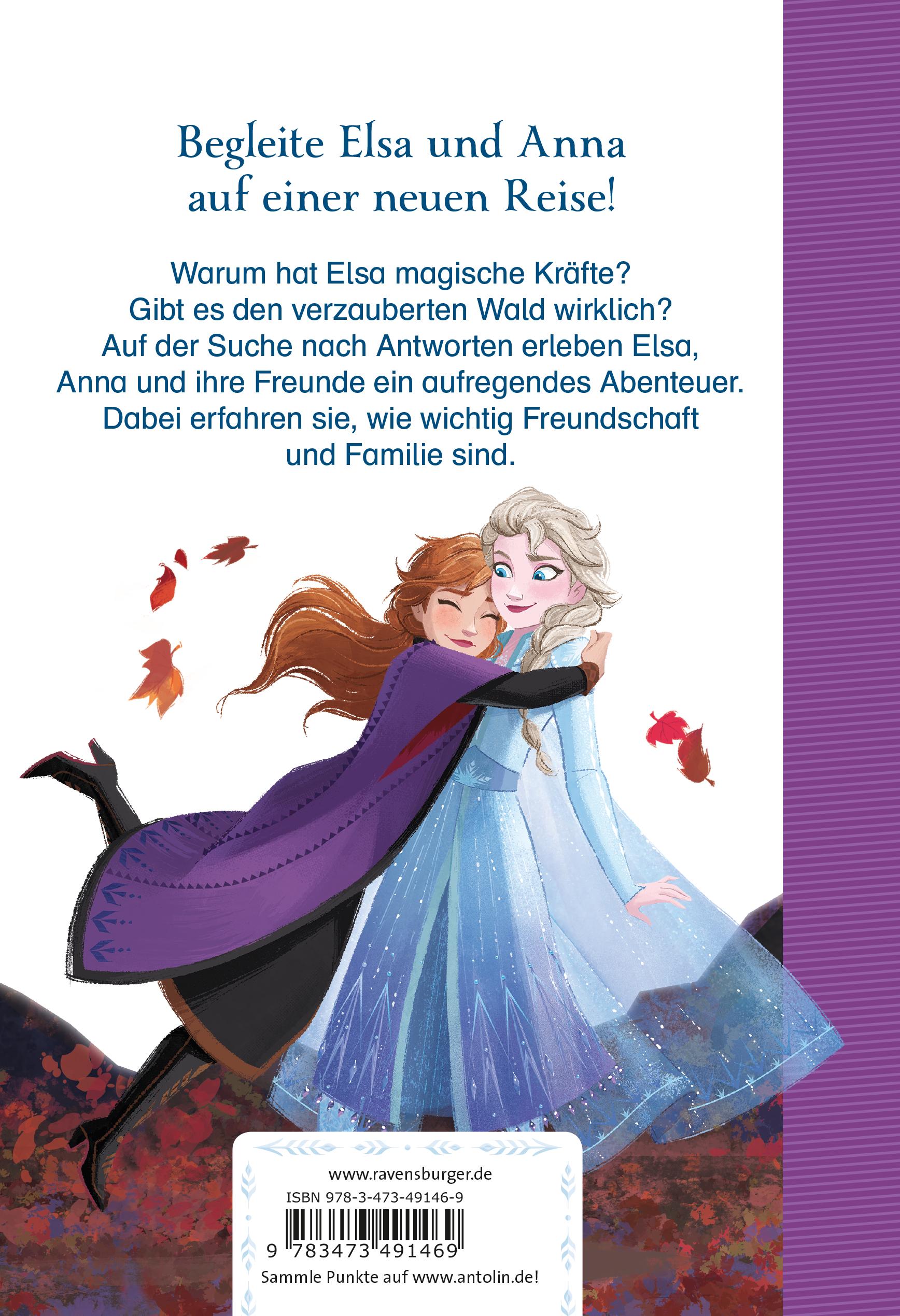 Disney Die Eiskönigin 2 - Für Erstleser: Band 1 Das Abenteuer beginnt