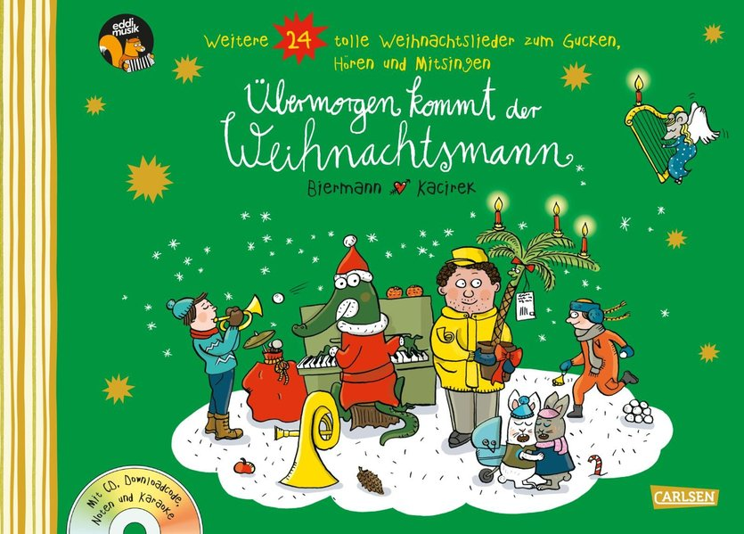 Übermorgen kommt der Weihnachtsmann