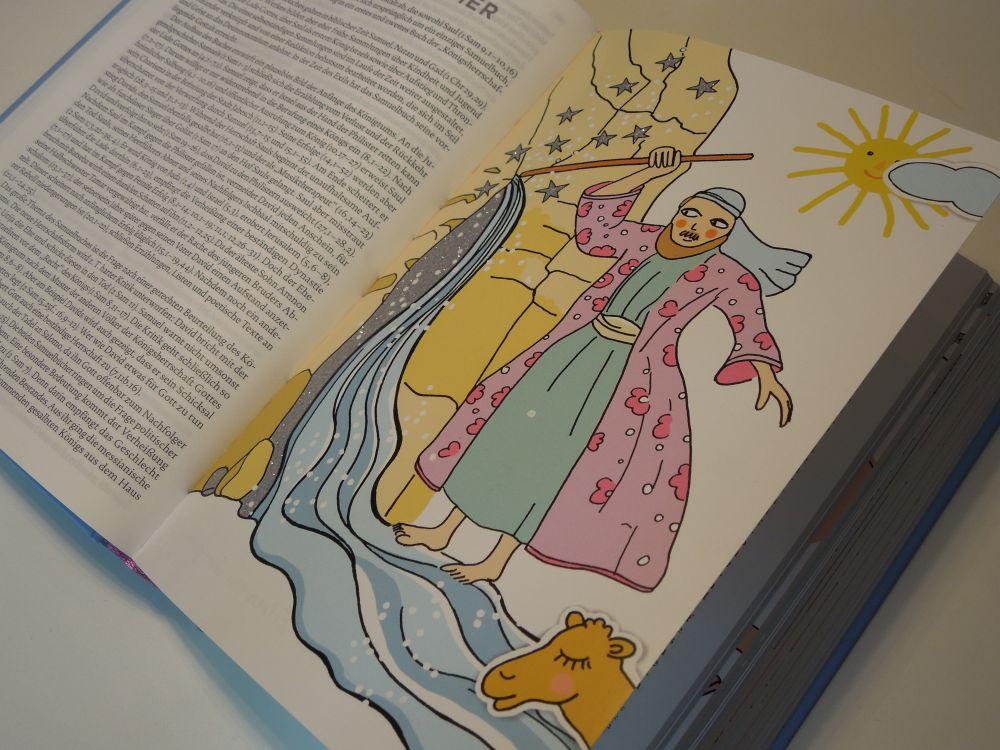 Die Bibel mit Bildern zu Wundern
