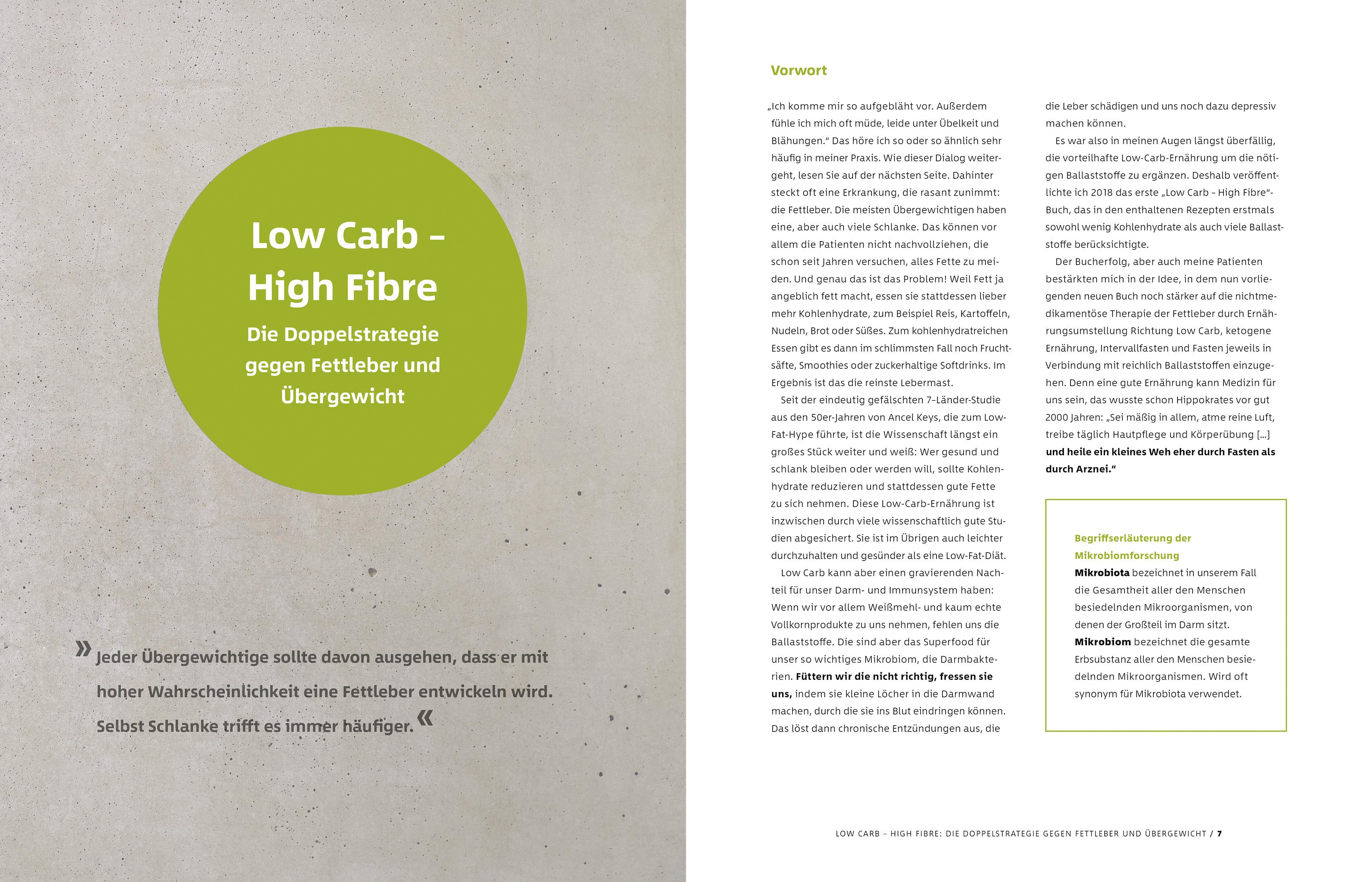 Schlank mit Low Carb – High Fibre