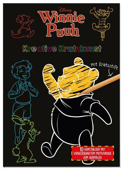 Disney Winnie Puuh: Kreative Kratzkunst