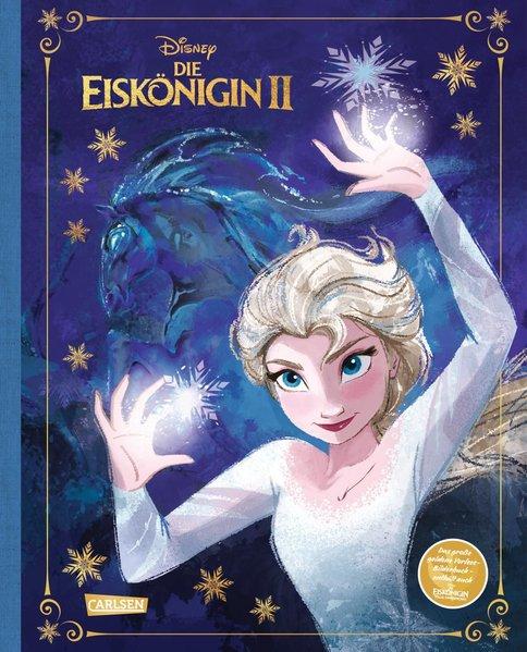 """Disney: Die Eiskönigin 2 – Das große goldene Vorlese-Bilderbuch (Geschichten aus den Filmen """"Die Eiskönigin"""" Teil 1 und 2)"""