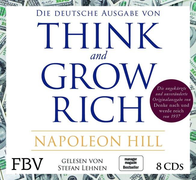Think and Grow Rich – Deutsche Ausgabe (Audio-CD)