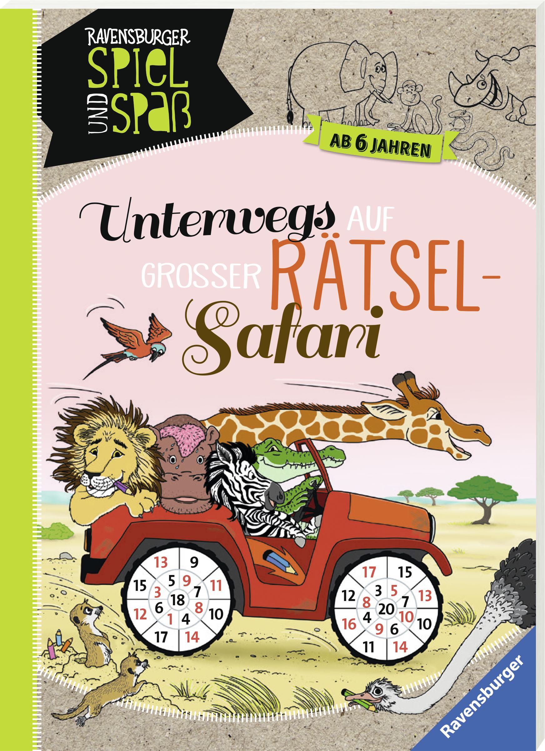 Unterwegs auf großer Rätsel-Safari