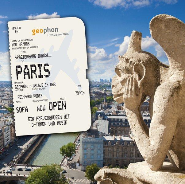 Spaziergang durch Paris (Audio-CD)