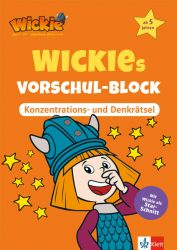 Wickies Vorschul-Block Konzentrations- und Denkrätsel