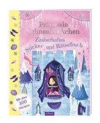 Prinzessin Schneeflöckchen - Zauberhaftes Sticker- und Rätselbuch