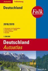 Falk Autoatlas Falkfaltung Deutschland 2018/2019 1:500 000
