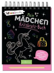 Mein Mädchen-Kritzkratz-Buch