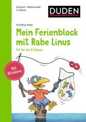 Mein Ferienblock mit Rabe Linus – Fit für die 3. Klasse