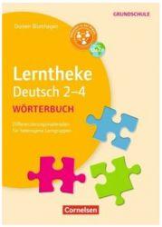 Lerntheke Grundschule - Deutsch / Wörterbuch 2-4