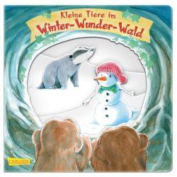 Kleine Tiere im Winter-Wunder-Wald