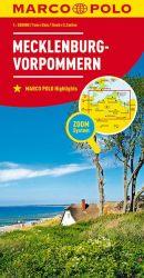 MARCO POLO Karte Deutschland Blatt 2 Mecklenburg-Vorpommern 1:200 000