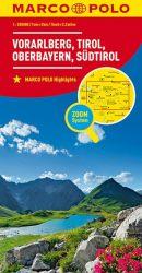 MARCO POLO Regionalkarte Österreich Blatt3 Vorarlberg,Tirol,Oberbayern 1:200 000