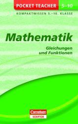 Pocket Teacher Mathematik - Gleichungen und Funktionen 5.-10. Klasse