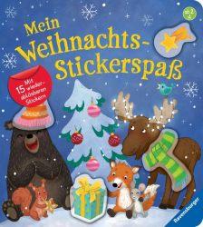 Mein Weihnachts-Stickerspaß