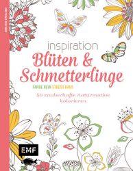Inspiration Blüten und Schmetterlinge