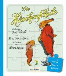Die Häschenschule: Ein lustiges Puzzlebuch