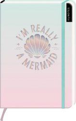 myNOTES I'm really a mermaid - Notizbuch im Mediumformat für Träume, Pläne und Ideen