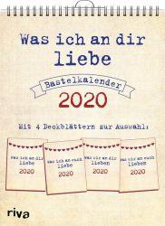 Was ich an dir liebe – Bastelkalender 2020