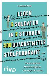 """Legen 5 Soldaten in 2 Stunden 300 Quadratmeter Stolperdraht …"""