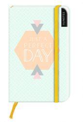 myNotes: Just a Perfect Day / Notizbuch klein / blanko