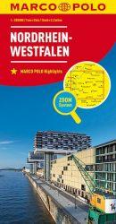 MARCO POLO Karte Deutschland Blatt 5 Nordrhein-Westfalen 1:200 000