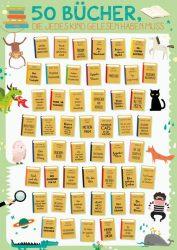 50 Bücher, die jedes Kind gelesen haben muss