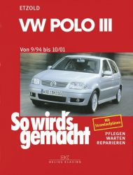 VW Polo III 9/94 bis 10/01