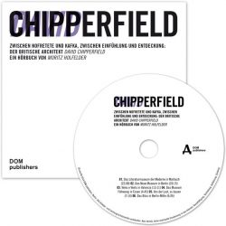 David Chipperfield. (Audio-CD)