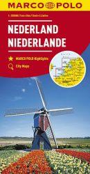 MARCO POLO Karte Niederlande 1:200 000