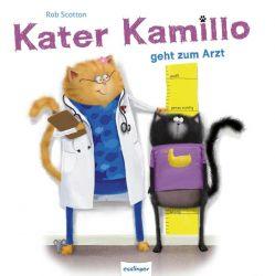 Kater Kamillo geht zum Arzt