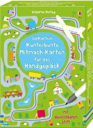 50 Karten: Kunterbunte Mitmach-Karten für das Handgepäck