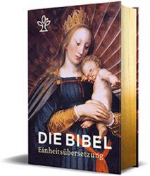 Die Bibel. Mit Bildern der Alten Meister und Familienchronik. Großdruck mit Goldschnitt