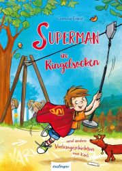 Superman in Ringelsocken