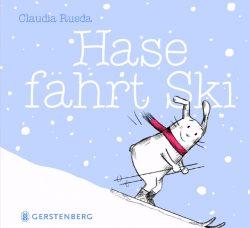 Hase fährt Ski