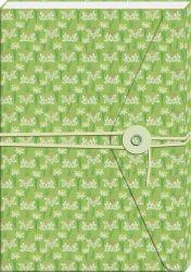 Notizbuch mit Band und Wickelknopf