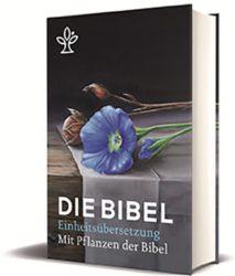 Die Bibel mit Bildern von biblischen Pflanzen