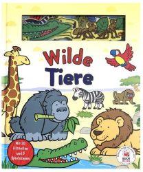 Spielbuch: Wilde Tiere - mit 20 Filzteilen und 5 Spielszenen