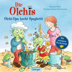 Die Olchis Olchi-Opa kocht Spaghetti