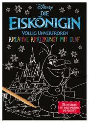 Disney Die Eiskönigin: Kreative Kratzkunst mit Olaf